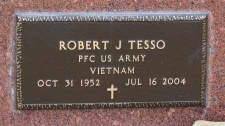 TESSO, ROBERT J - Richland County, Ohio | ROBERT J TESSO - Ohio Gravestone Photos