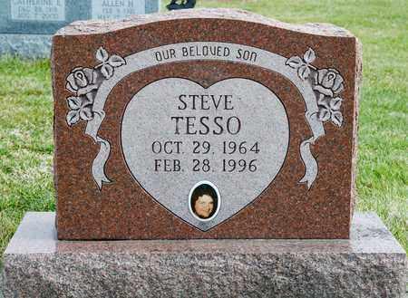 TESSO, STEVE - Richland County, Ohio | STEVE TESSO - Ohio Gravestone Photos