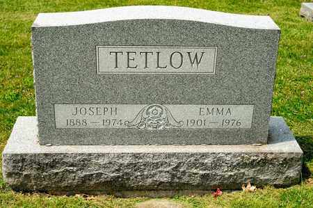 TETLOW, JOSEPH - Richland County, Ohio | JOSEPH TETLOW - Ohio Gravestone Photos