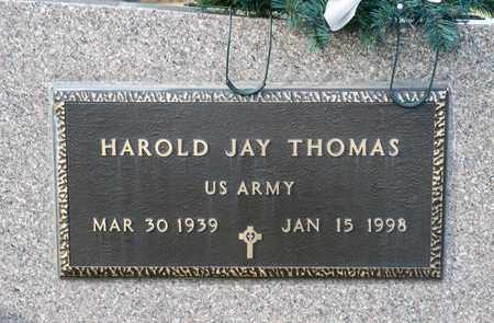 THOMAS, HAROLD JAY - Richland County, Ohio | HAROLD JAY THOMAS - Ohio Gravestone Photos