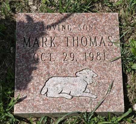 THOMAS, MARK - Richland County, Ohio | MARK THOMAS - Ohio Gravestone Photos