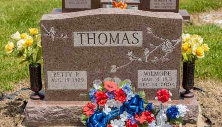 THOMAS, WILMORE - Richland County, Ohio | WILMORE THOMAS - Ohio Gravestone Photos