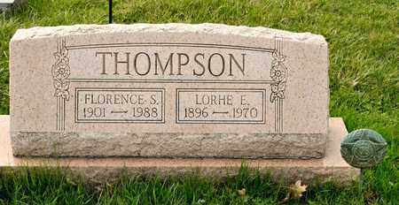 THOMPSON, FLORENCE S - Richland County, Ohio | FLORENCE S THOMPSON - Ohio Gravestone Photos