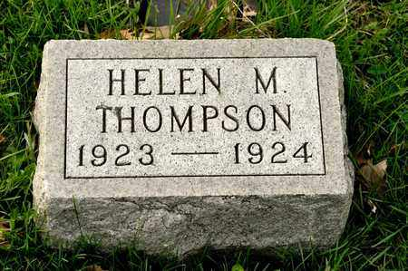 THOMPSON, HELEN M - Richland County, Ohio | HELEN M THOMPSON - Ohio Gravestone Photos