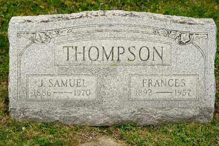 THOMPSON, FRANCES - Richland County, Ohio | FRANCES THOMPSON - Ohio Gravestone Photos