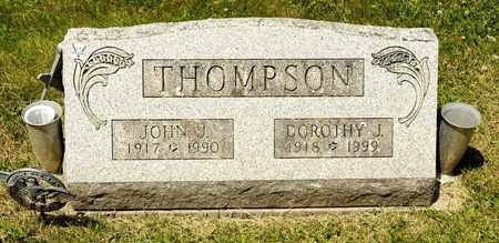 THOMPSON, JOHN J - Richland County, Ohio | JOHN J THOMPSON - Ohio Gravestone Photos