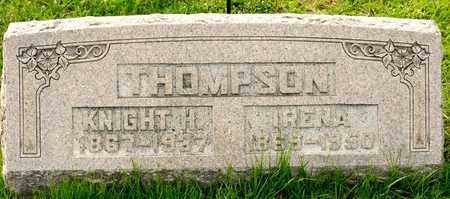 THOMPSON, IRENA - Richland County, Ohio | IRENA THOMPSON - Ohio Gravestone Photos