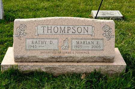THOMPSON, MARIAN E - Richland County, Ohio | MARIAN E THOMPSON - Ohio Gravestone Photos