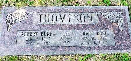 THOMPSON, GRACE ROSE - Richland County, Ohio | GRACE ROSE THOMPSON - Ohio Gravestone Photos