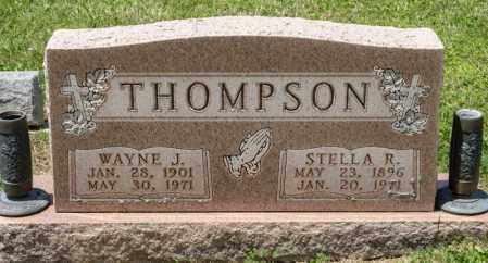 THOMPSON, STELLA R - Richland County, Ohio | STELLA R THOMPSON - Ohio Gravestone Photos