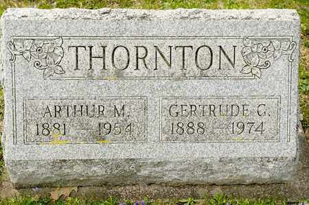 THORNTON, ARTHUR M - Richland County, Ohio | ARTHUR M THORNTON - Ohio Gravestone Photos