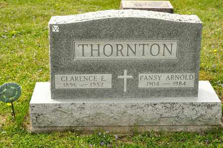 ARNOLD THORNTON, PANSY - Richland County, Ohio | PANSY ARNOLD THORNTON - Ohio Gravestone Photos
