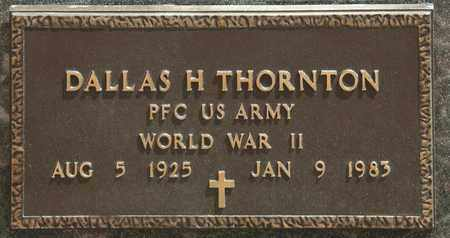 THORNTON, DALLAS H - Richland County, Ohio | DALLAS H THORNTON - Ohio Gravestone Photos
