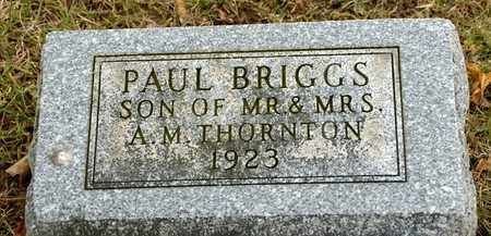 THORNTON, PAUL BRIGGS - Richland County, Ohio | PAUL BRIGGS THORNTON - Ohio Gravestone Photos