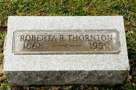 THORNTON, ROBERTA R - Richland County, Ohio | ROBERTA R THORNTON - Ohio Gravestone Photos