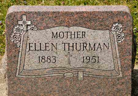 THURMAN, ELLEN - Richland County, Ohio | ELLEN THURMAN - Ohio Gravestone Photos