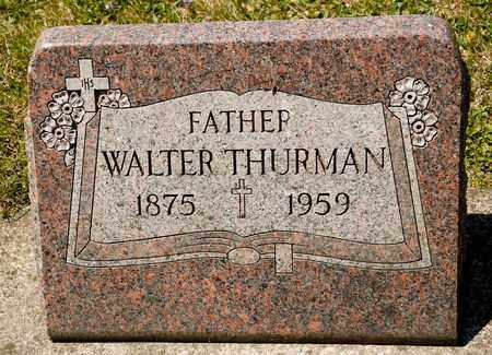 THURMAN, WALTER - Richland County, Ohio | WALTER THURMAN - Ohio Gravestone Photos