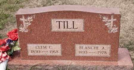TILL, CLEM C - Richland County, Ohio | CLEM C TILL - Ohio Gravestone Photos