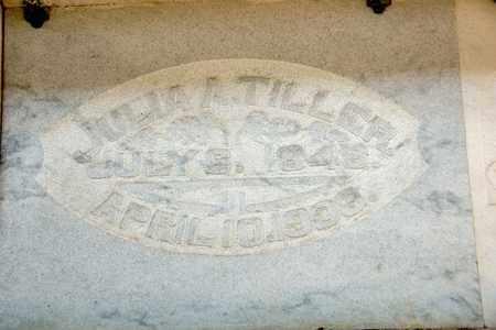 TILLER, JULIA A - Richland County, Ohio | JULIA A TILLER - Ohio Gravestone Photos