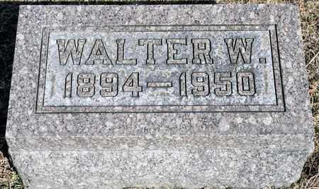 TILOCK, WALTER W - Richland County, Ohio | WALTER W TILOCK - Ohio Gravestone Photos