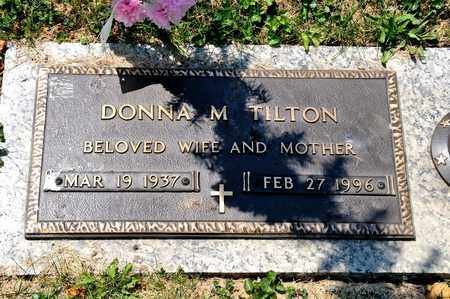 TILTON, DONNA M - Richland County, Ohio | DONNA M TILTON - Ohio Gravestone Photos