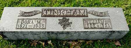 TINKHAM, WILLIAM E - Richland County, Ohio | WILLIAM E TINKHAM - Ohio Gravestone Photos