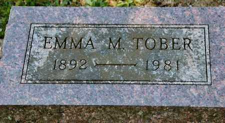 TOBER, EMMA M - Richland County, Ohio | EMMA M TOBER - Ohio Gravestone Photos