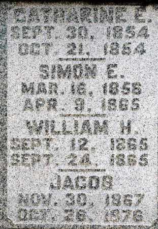 TOOKER, SIMON E - Richland County, Ohio | SIMON E TOOKER - Ohio Gravestone Photos