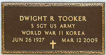TOOKER, DWIGHT R - Richland County, Ohio | DWIGHT R TOOKER - Ohio Gravestone Photos