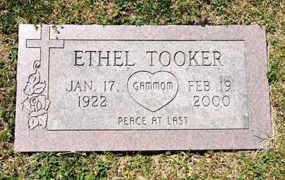 TOOKER, ETHEL - Richland County, Ohio | ETHEL TOOKER - Ohio Gravestone Photos