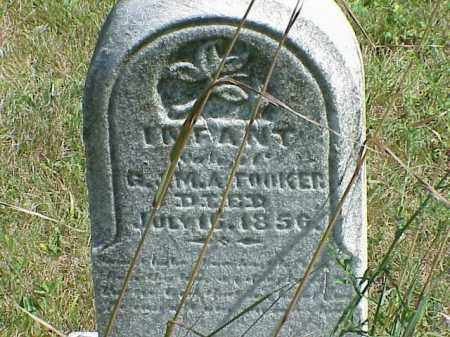 TOOKER, INFANT - Richland County, Ohio | INFANT TOOKER - Ohio Gravestone Photos