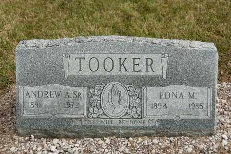 TOOKER SR, ANDREW A - Richland County, Ohio | ANDREW A TOOKER SR - Ohio Gravestone Photos
