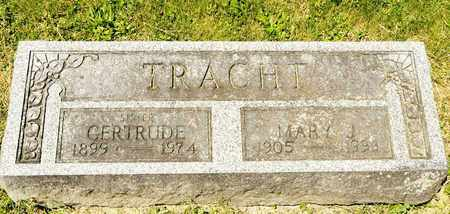 TRACHT, MARY J - Richland County, Ohio | MARY J TRACHT - Ohio Gravestone Photos