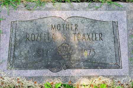 TRAXLER, ROZELLA A - Richland County, Ohio | ROZELLA A TRAXLER - Ohio Gravestone Photos