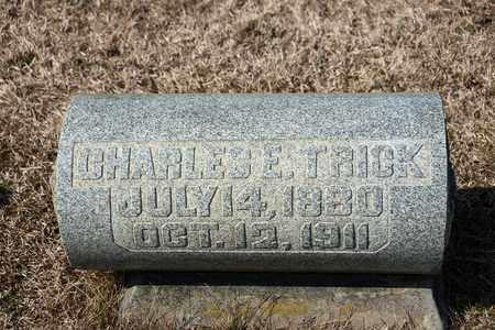 TRICK, CHARLES E - Richland County, Ohio | CHARLES E TRICK - Ohio Gravestone Photos
