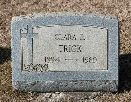 TRICK, CLARA E - Richland County, Ohio | CLARA E TRICK - Ohio Gravestone Photos