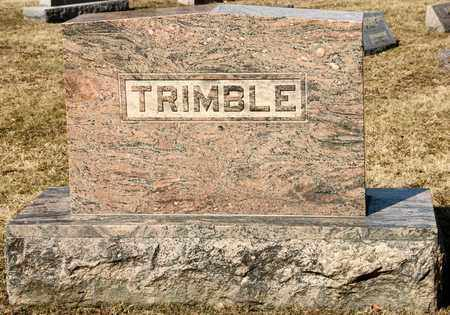 TRIMBLE, IDA MAY - Richland County, Ohio | IDA MAY TRIMBLE - Ohio Gravestone Photos