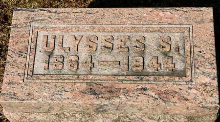 TRIMBLE, ULYSSES S - Richland County, Ohio | ULYSSES S TRIMBLE - Ohio Gravestone Photos