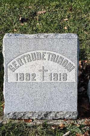 TRINONI, GERTRUDE - Richland County, Ohio | GERTRUDE TRINONI - Ohio Gravestone Photos
