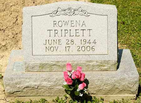 TRIPLETT, ROWENA - Richland County, Ohio | ROWENA TRIPLETT - Ohio Gravestone Photos