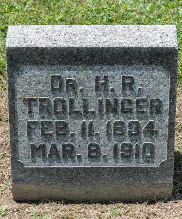 TROLLINGER, H R - Richland County, Ohio | H R TROLLINGER - Ohio Gravestone Photos
