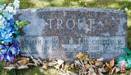TROUT, WILLIAM R - Richland County, Ohio | WILLIAM R TROUT - Ohio Gravestone Photos