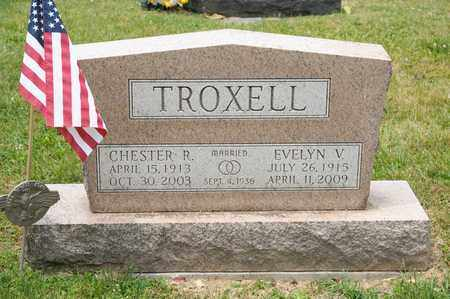 TROXELL, EVELYN V - Richland County, Ohio | EVELYN V TROXELL - Ohio Gravestone Photos