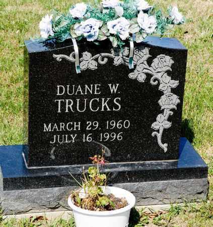 TRUCKS, DUANE W - Richland County, Ohio | DUANE W TRUCKS - Ohio Gravestone Photos