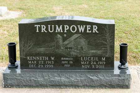 TRUMPOWER, LUCEIL M - Richland County, Ohio | LUCEIL M TRUMPOWER - Ohio Gravestone Photos
