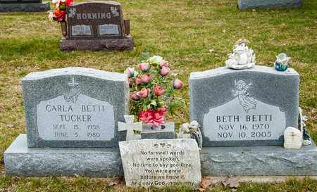 TUCKER, CARLA - Richland County, Ohio | CARLA TUCKER - Ohio Gravestone Photos