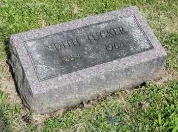 TUCKER, EDITH - Richland County, Ohio | EDITH TUCKER - Ohio Gravestone Photos