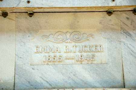 TUCKER, EMMA R - Richland County, Ohio | EMMA R TUCKER - Ohio Gravestone Photos