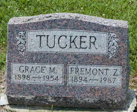 TUCKER, FREMONT Z - Richland County, Ohio | FREMONT Z TUCKER - Ohio Gravestone Photos