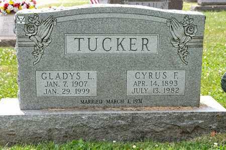 TUCKER, CYRUS F - Richland County, Ohio | CYRUS F TUCKER - Ohio Gravestone Photos